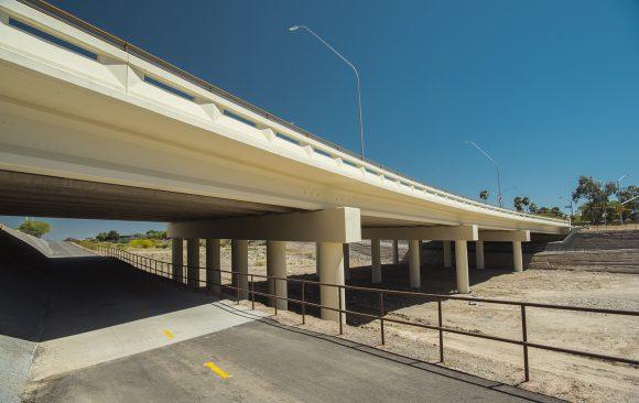 Kolb Road Bridge + Pedestrian Walk-through
