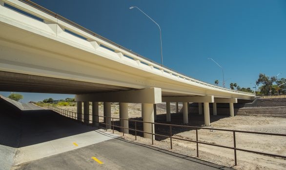 Kolb Road Bridge + Pedestrian Walk-through