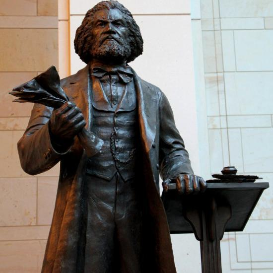 FREDERICK DOUGLASS SCULPTURE