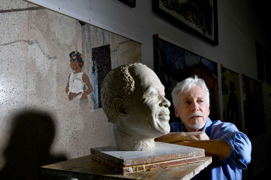 After DC chose a white artist for Marion Barry's statue, an unlikely friendship was forged